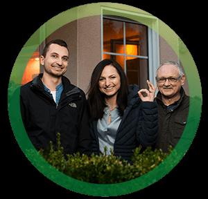 <h3>Familie Jaron, BürgerGas-Kunden seit 2011</h3>